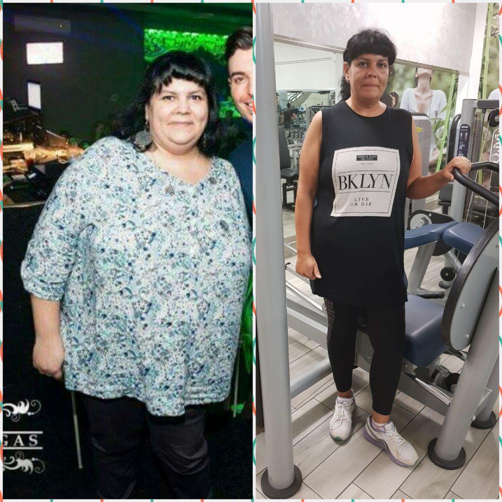 Pop Nicoleta, OBIETTIVO: dimagrimento Da 104 a 85 kg in 12 mesi