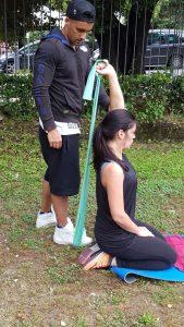 allenamento femminile outdoor personal trainer roma