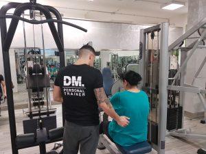 allenamento femminile indoor