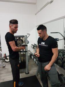 allenamento maschile