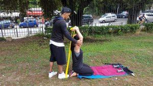 Allenamento outdoor personal trainer roma