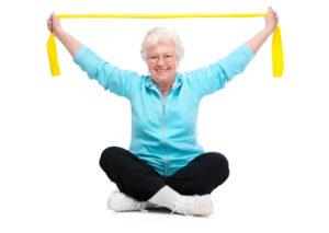 allenamento e sforzo fisico donna avanti con l'età