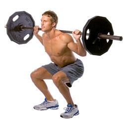 daniele macri personal trainer roma allenamento gambe con lo squat