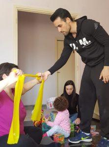 allenamento post gravidanza Daniele Macrì